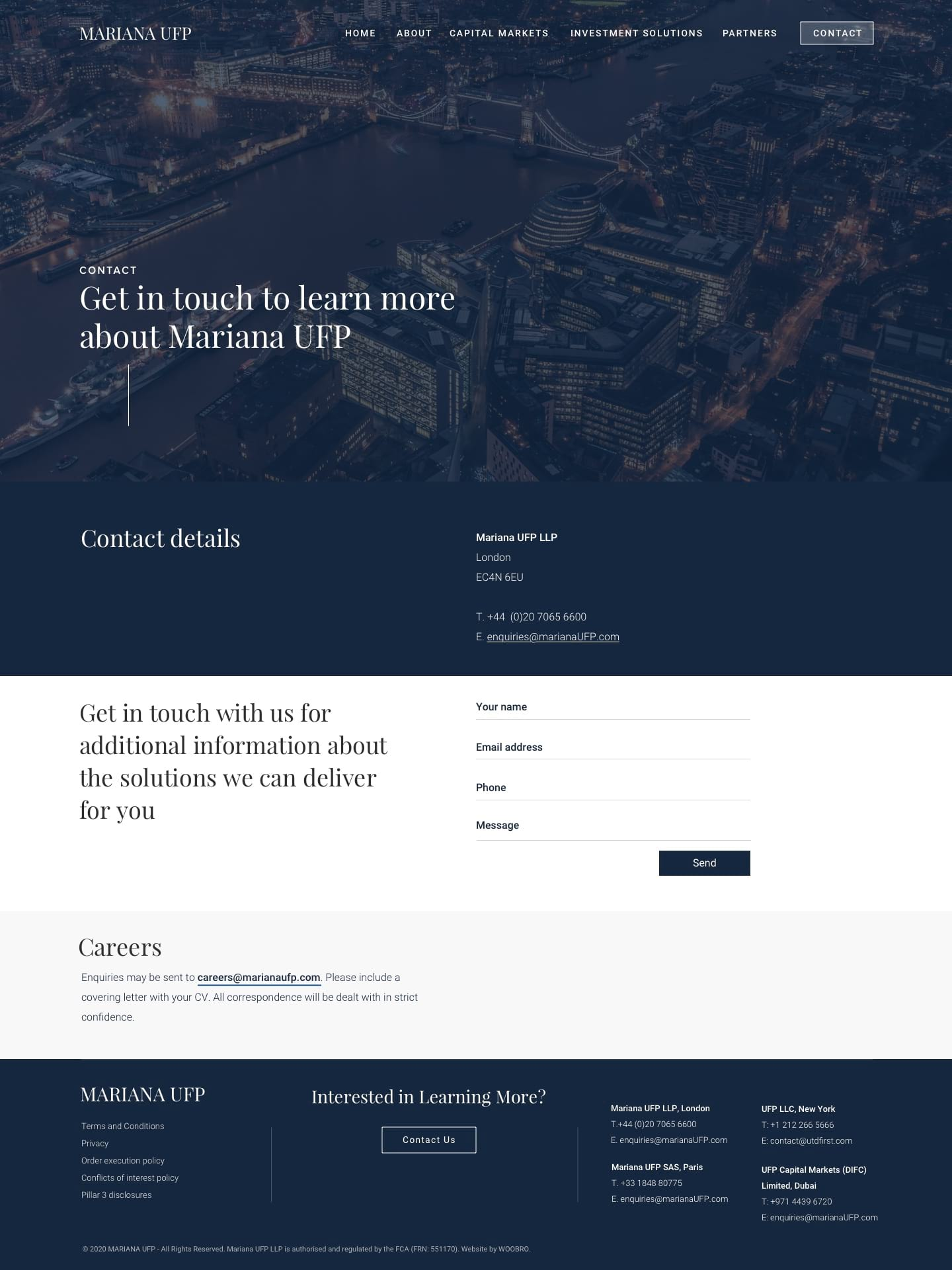 Mariana UFP Visual Design